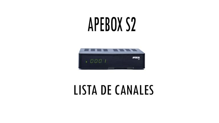 Apebox S2 Lista