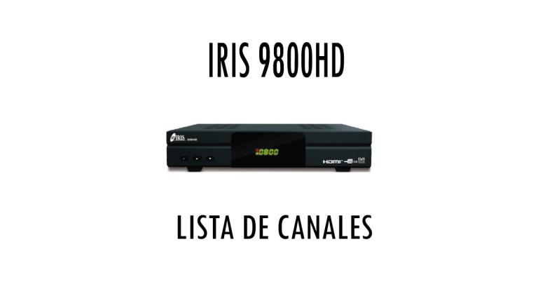 IRIS 9800HD Listas