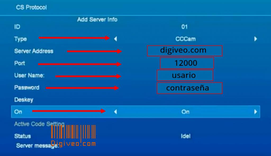 GTMEDIA V8 NOVA CCCAM clines