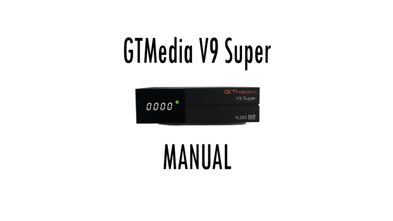 GTMEDIA V9