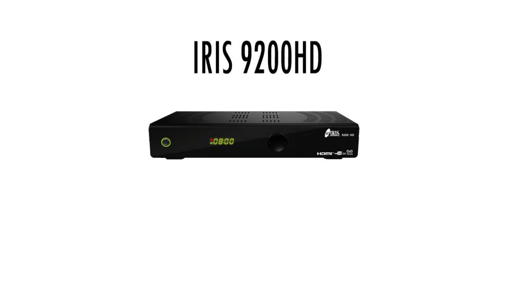 IRIS 9200HD Firmware actualizar