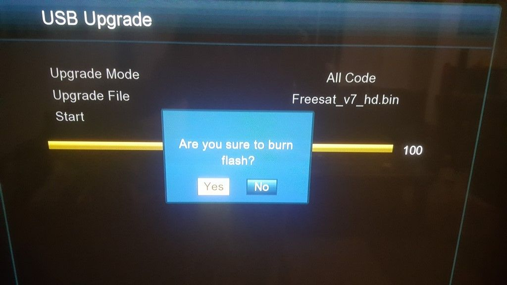 GTMedia V7S HD Actualizar firmware