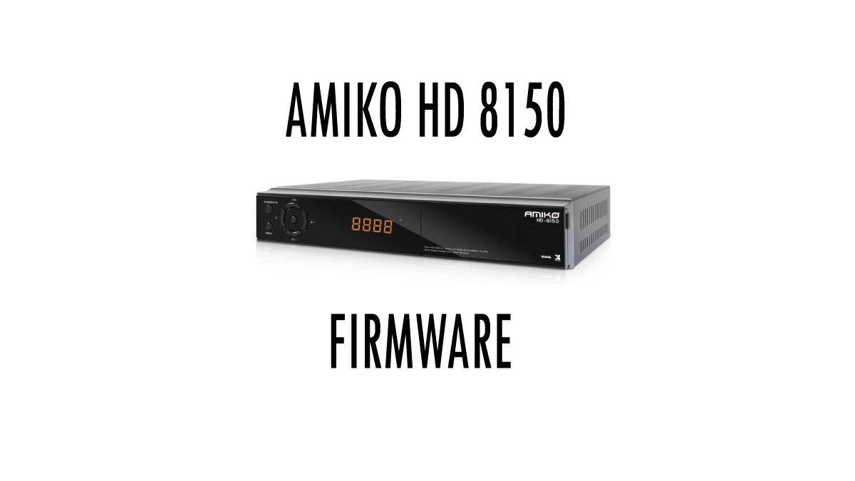 Amiko-HD8150-Firmware