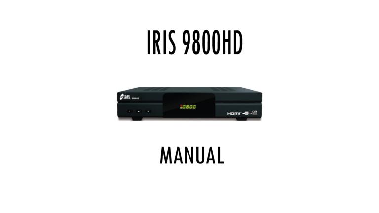 Iris-9800HD-Manual