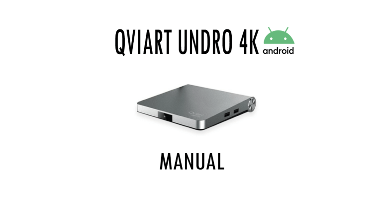 Qviart-undro-Manual