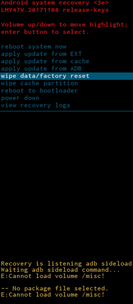 QVIART UNDRO 4K Recuperar receptor bloqueado