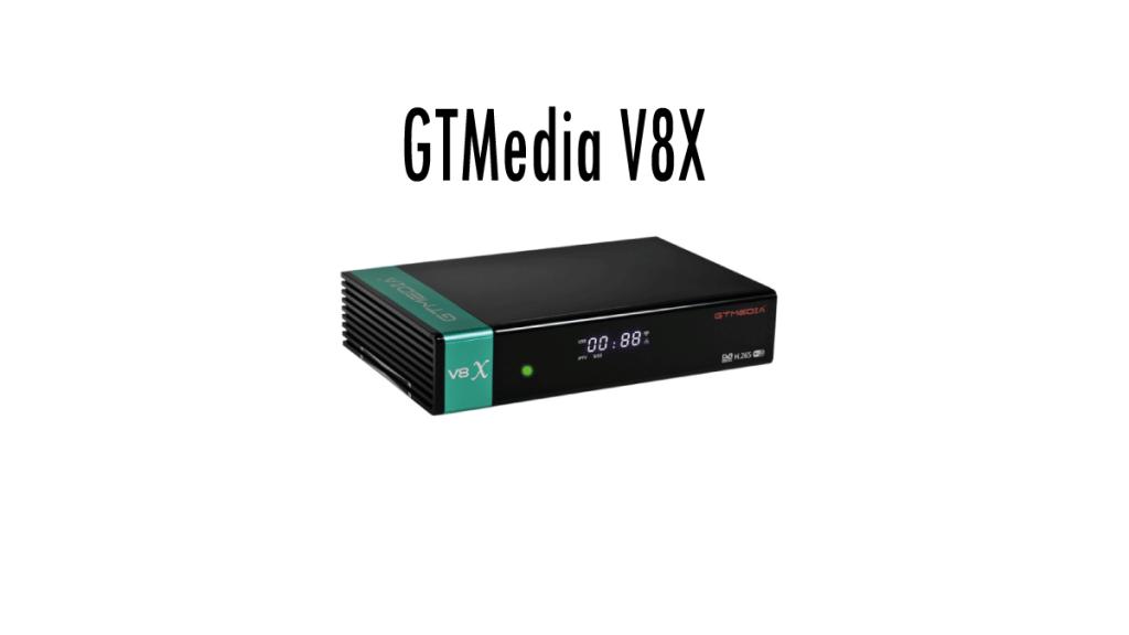 Lista de canales GTMEDIA V8X 2021 AGOSTO
