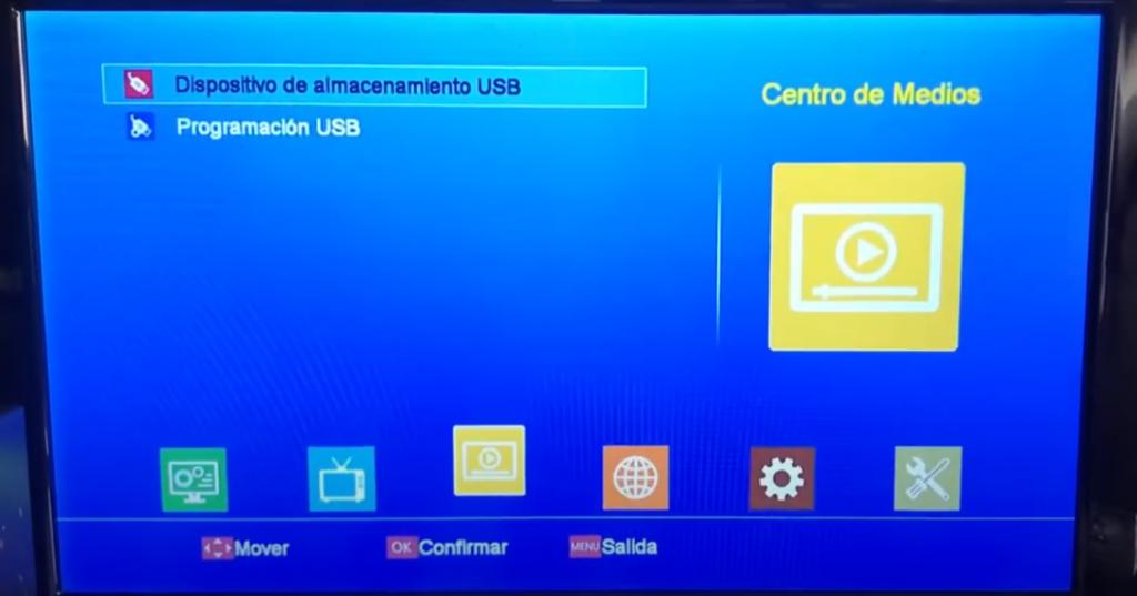 GTMEDIA V8 Series Grabar vídeo en USB (Timeshift)