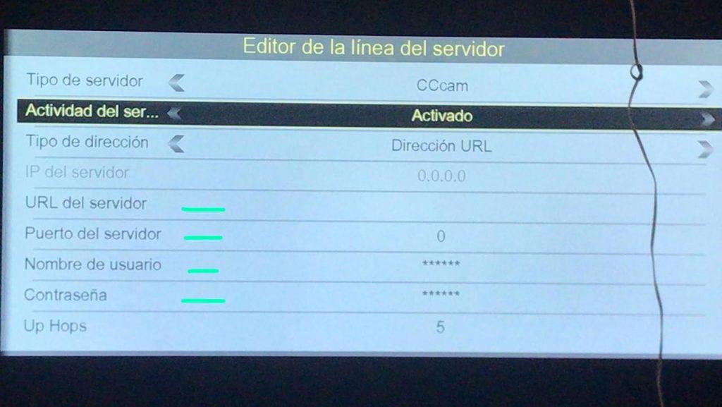 Cristor Atlas HD 200S Añadir CCCam manual