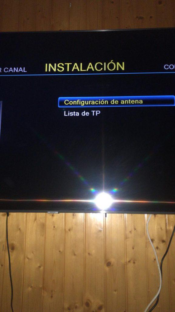 ENGEL 8100 HD Búsqueda de canales