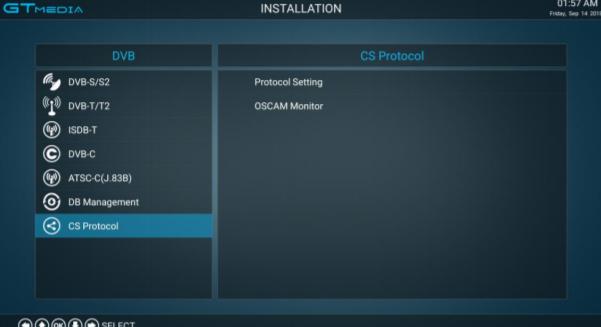 GTMEDIA GTS Editar OSCam