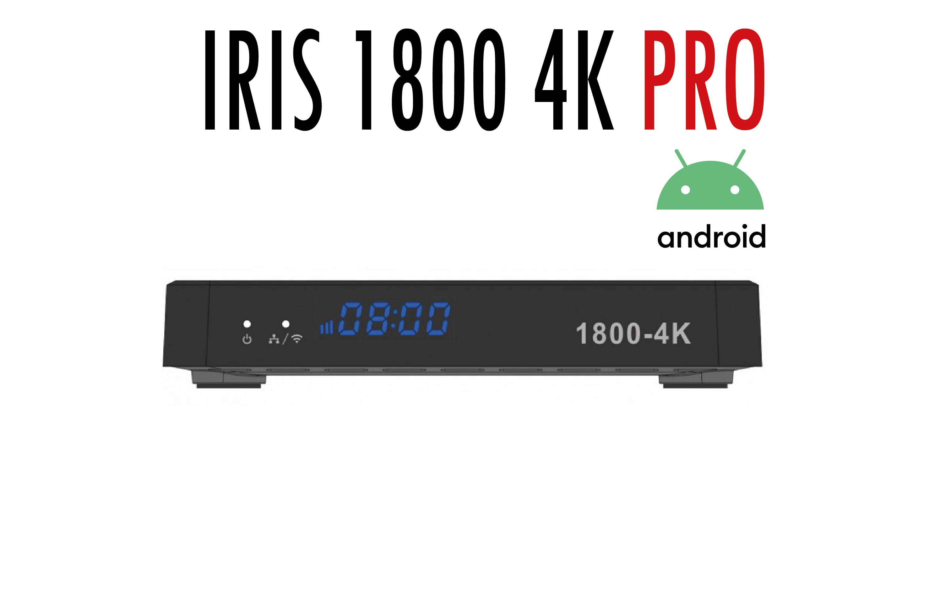 IRIS 1800 4K PRO