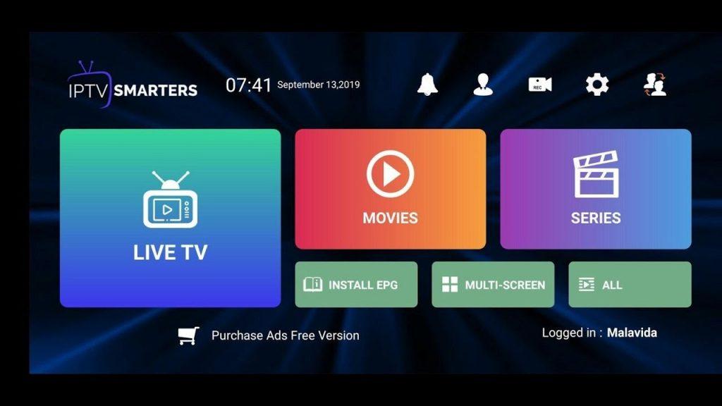 IPTV Smarters Pro Configuración XTREAM