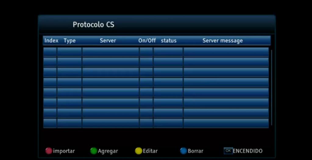 OSTARK AS2X protocolo cs