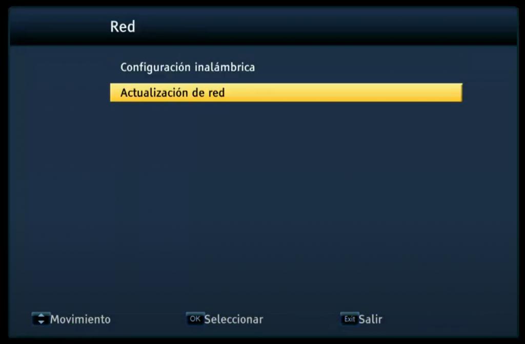 OSTARK AS7 PRO S2X Actualizar firmware por RED